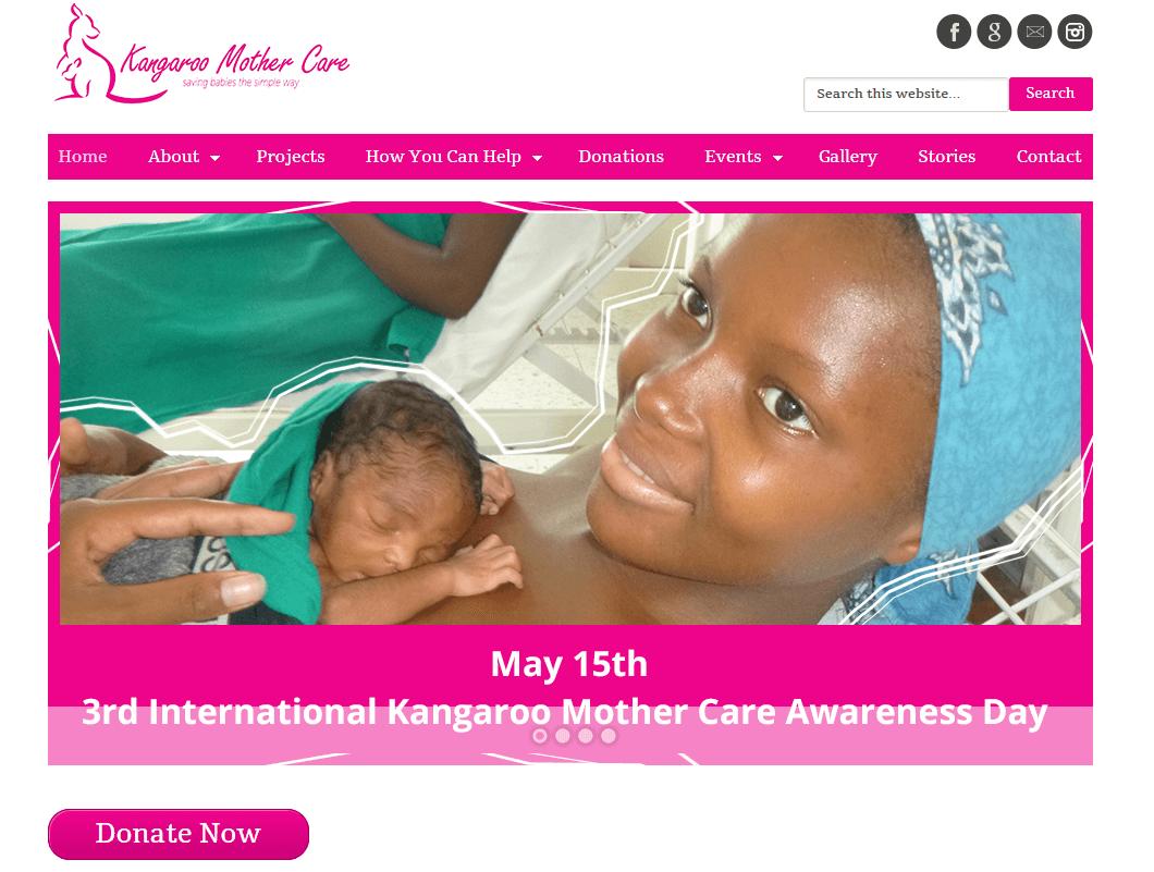Kangaroo Mother Care Screenshot