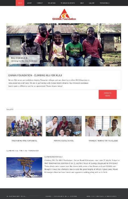 Government Organisation Website