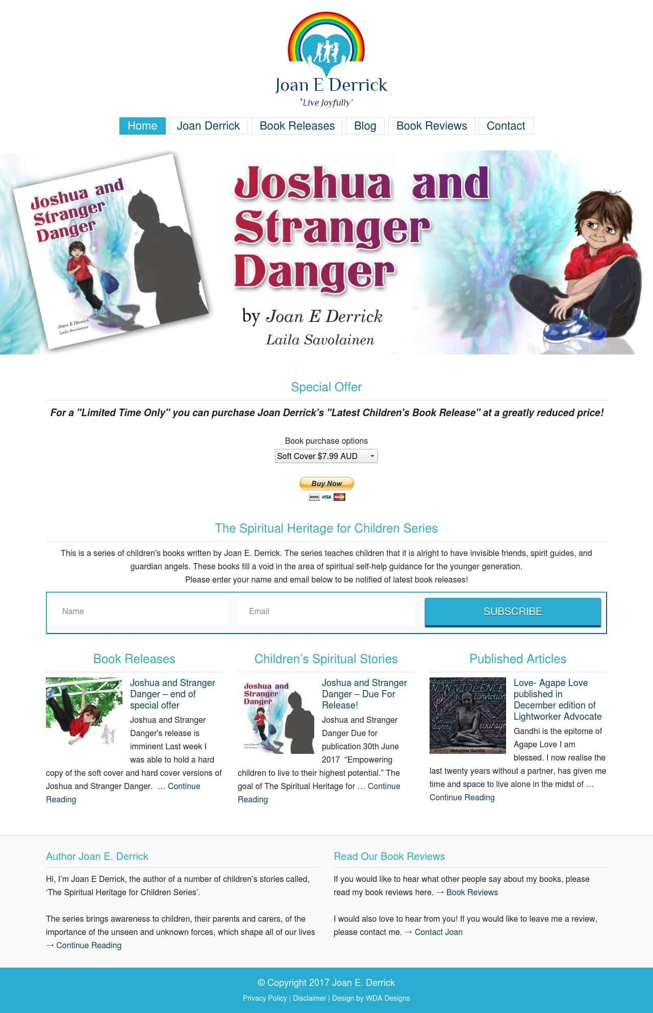 Joan Derrick Website