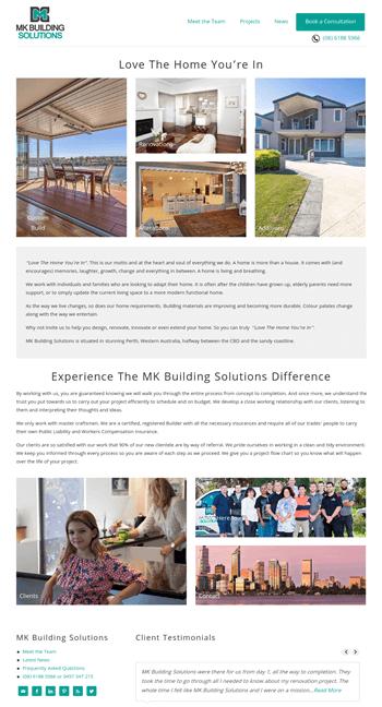 Building Contractors Website