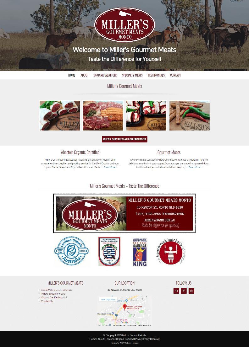 Millers Gourmet Meats Monto