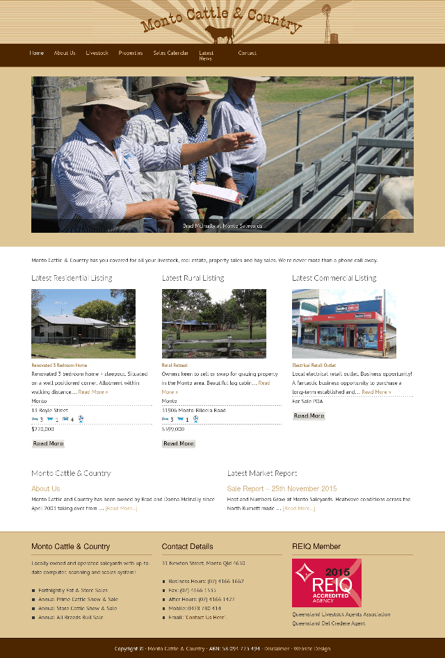 Livestock and Property Listing website