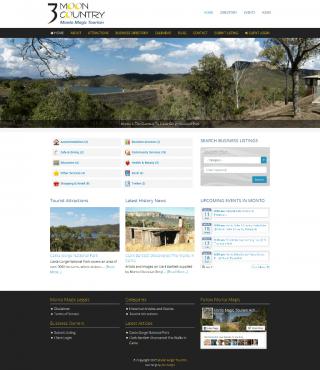 Monto Magic Website Screenshot