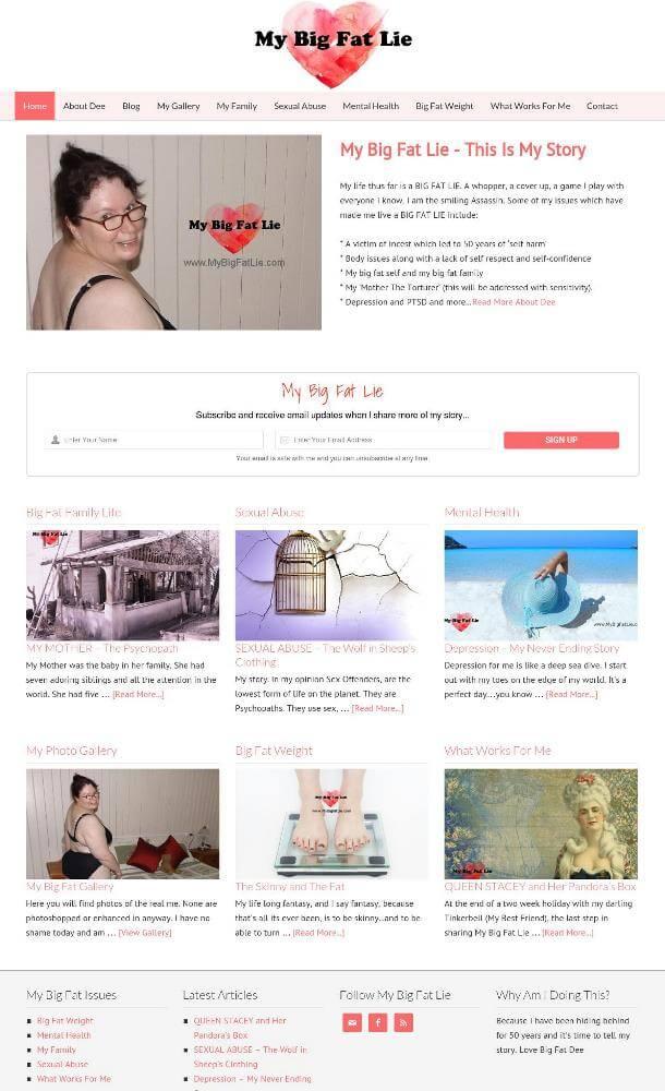 Life Story Website