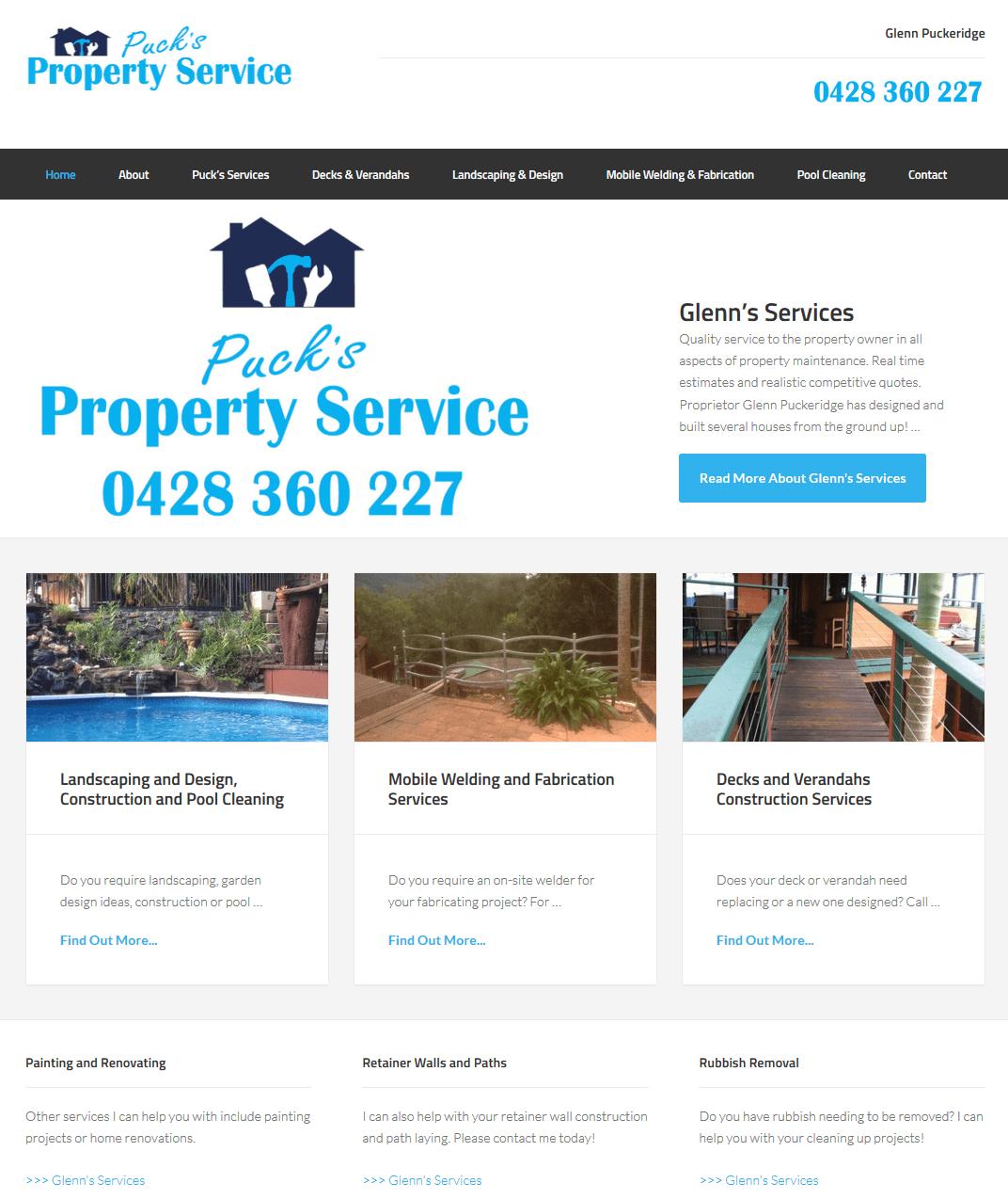 Property Service Website