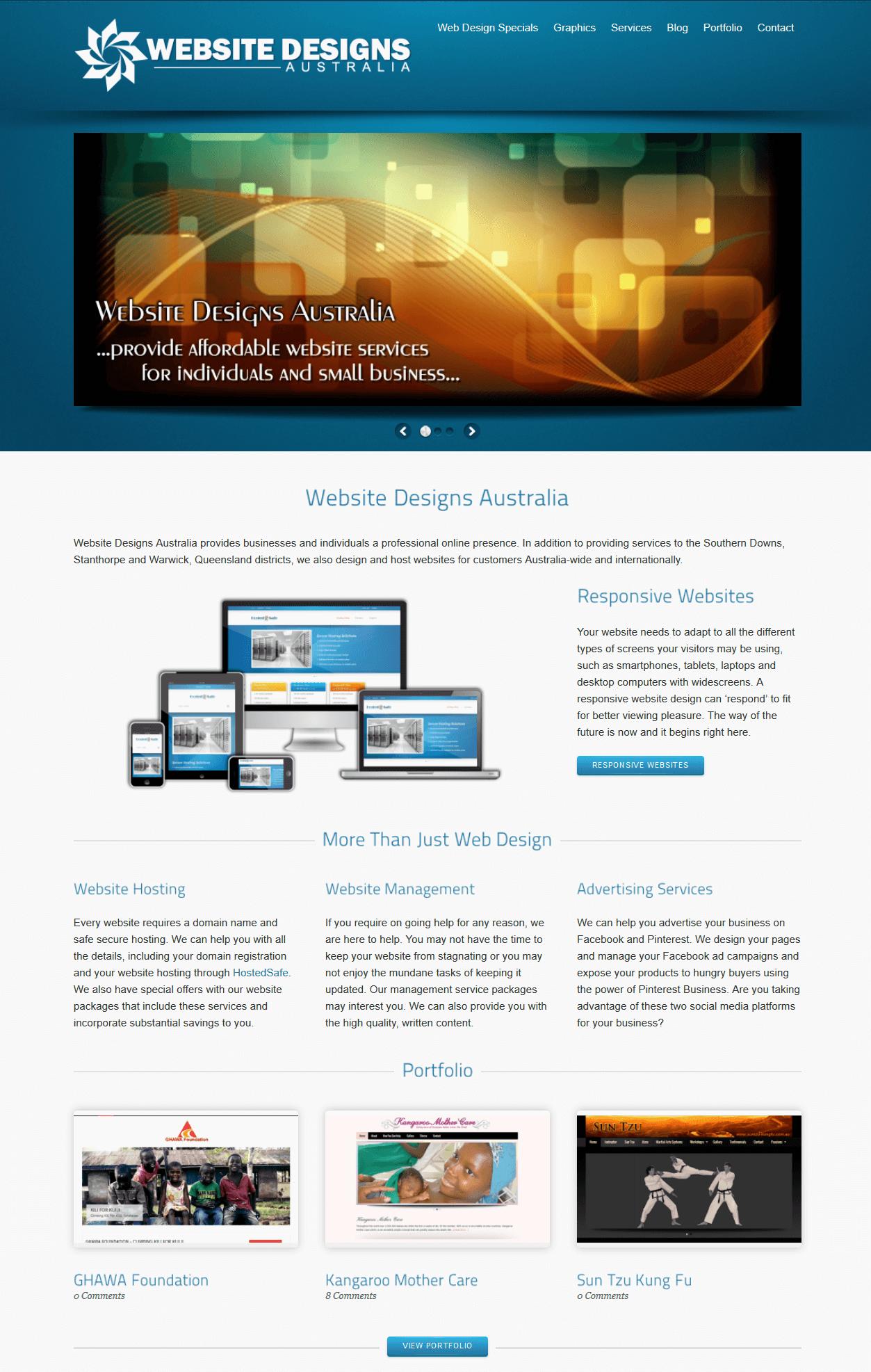 Website Designs Australia 2011