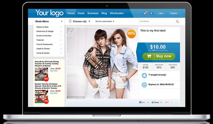WordPress Group Buy Theme