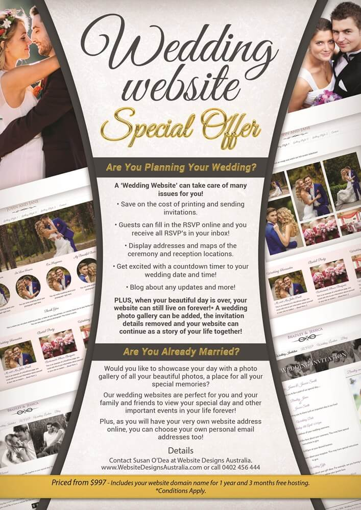 Wedding Website Special Offer