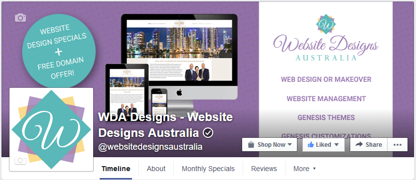 WDA Designs on Facebook